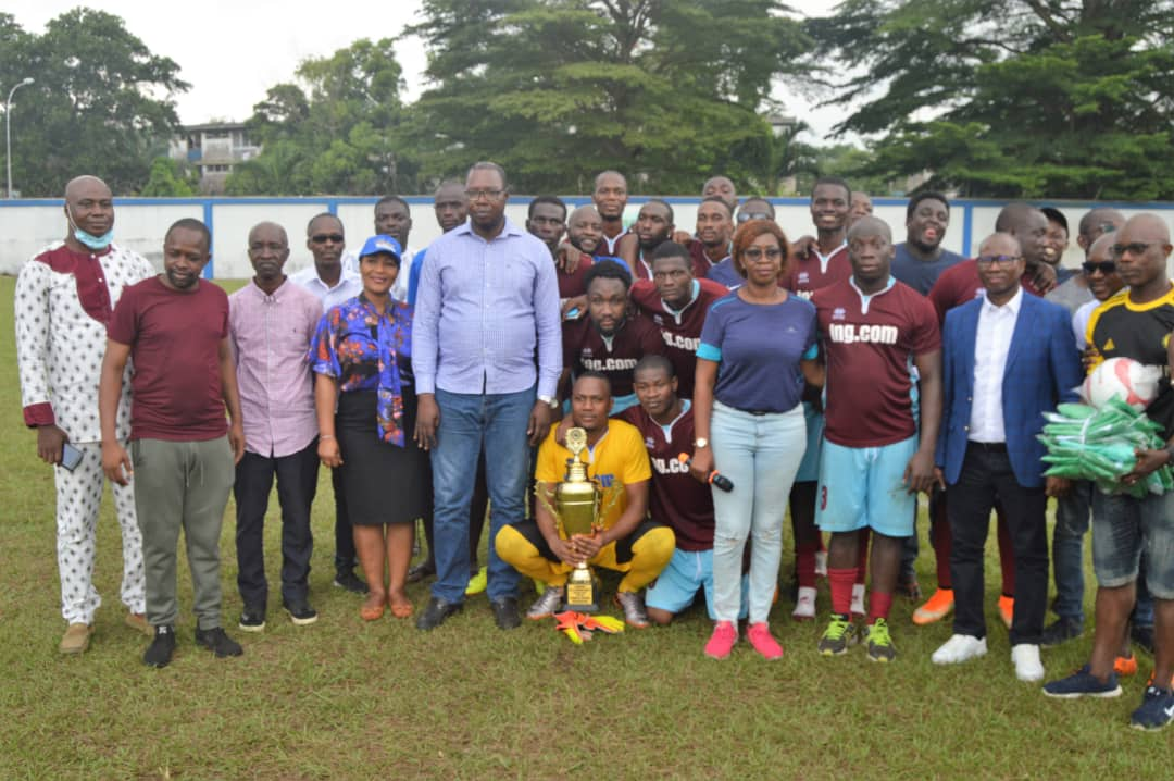 FOOTBALL TOURNOI DE LA CONFRATERNITE (UNJCI) : l'URPCI REMPORTE SON PREMIER TROPHÉE